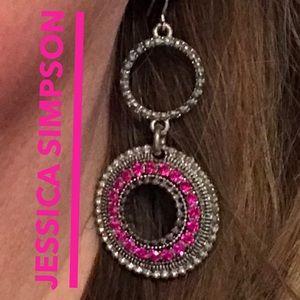 Jessica Simpson drop earrings